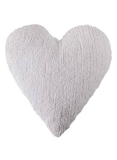 Lorena Canals Heart Yastık Beyaz